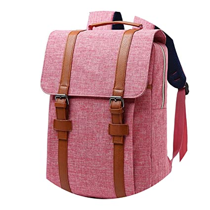 d238b5caf5 Image Unavailable. Image not available for. Color  2018 Vintage Men Women  Canvas Backpacks ...