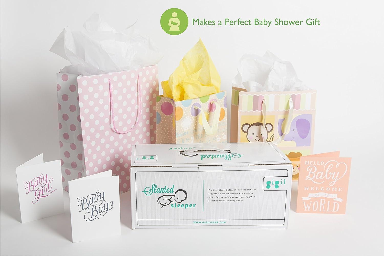 Amazon.com: Cuña para cuna de bebé con almohada de espuma ...