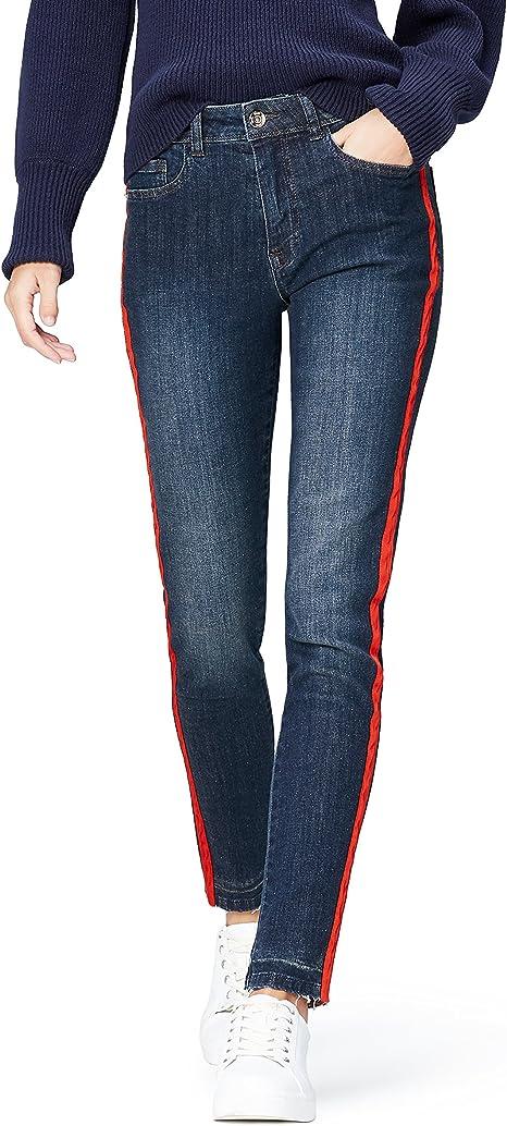 Jeans ncon Orlo Sfrangiato Donna Marchio find