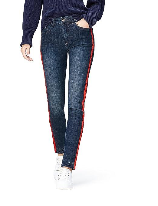 find. Damen Straight Cut-Jeans mit mittlerem Bund