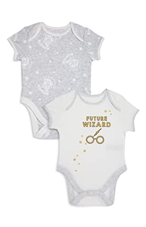 84ce808f5 Harry Potter Official Baby Grow x 2 Future Wizard (12-18 months ...