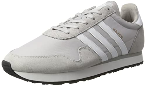 Adidas Haven, Scarpe da Ginnastica Basse Uomo, Grigio (Lgh Solid Grey/Footwear