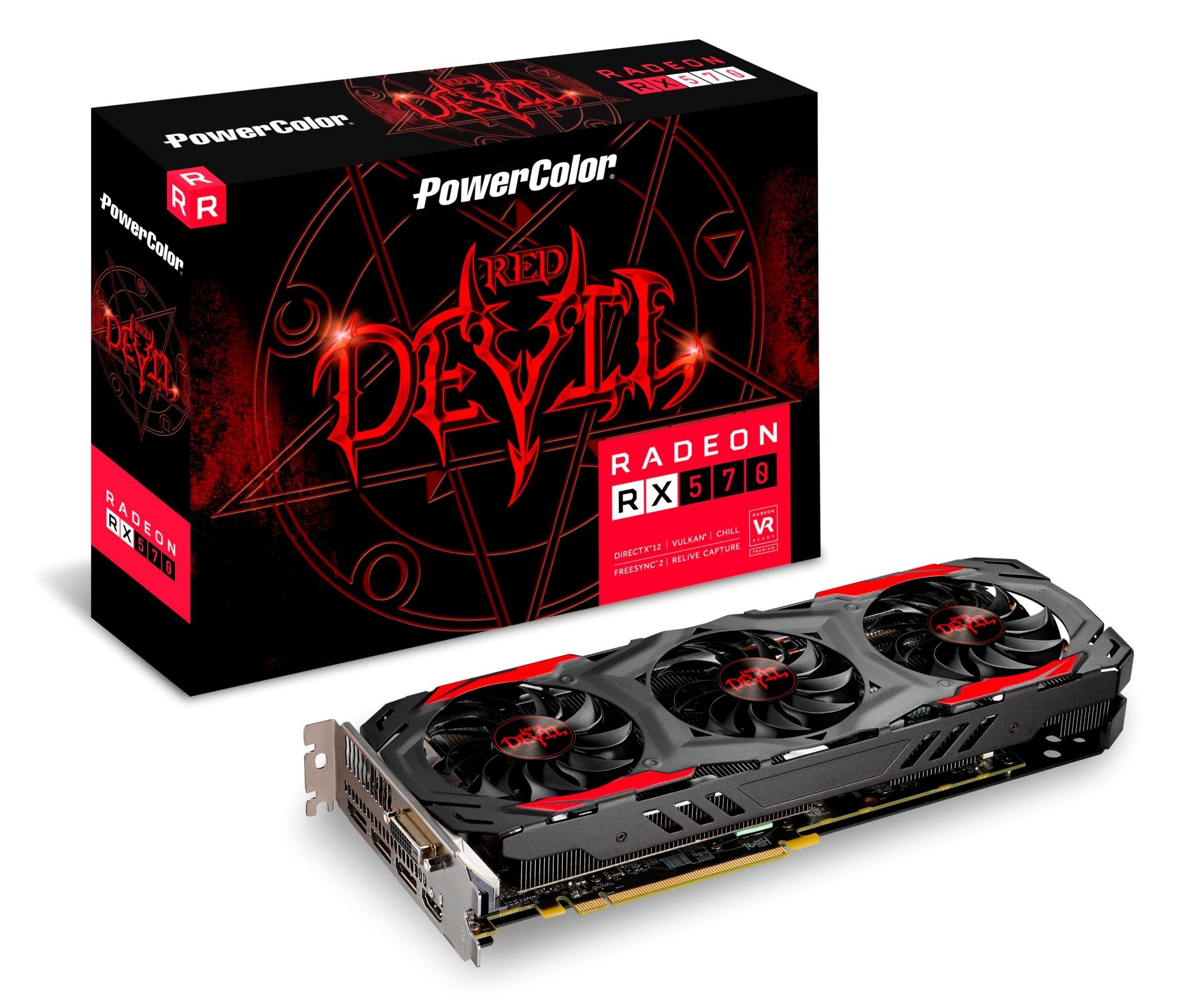 PowerColor AXRX 570 4GBD5-3DH/OC Video Card