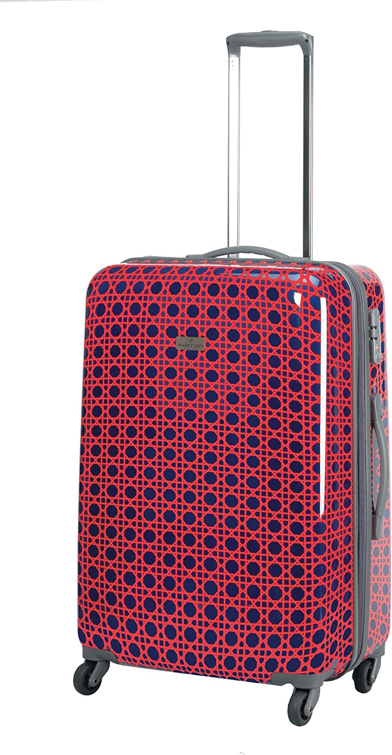 Happy Chic by Jonathan Adler Happy Chic 25 Inch Wheeled Luggage One Size, Cain