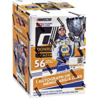 $69 » 2021 Donruss NASCAR Racing Blaster Box (8 cards per pack. 7 packs per box; FACTORY…