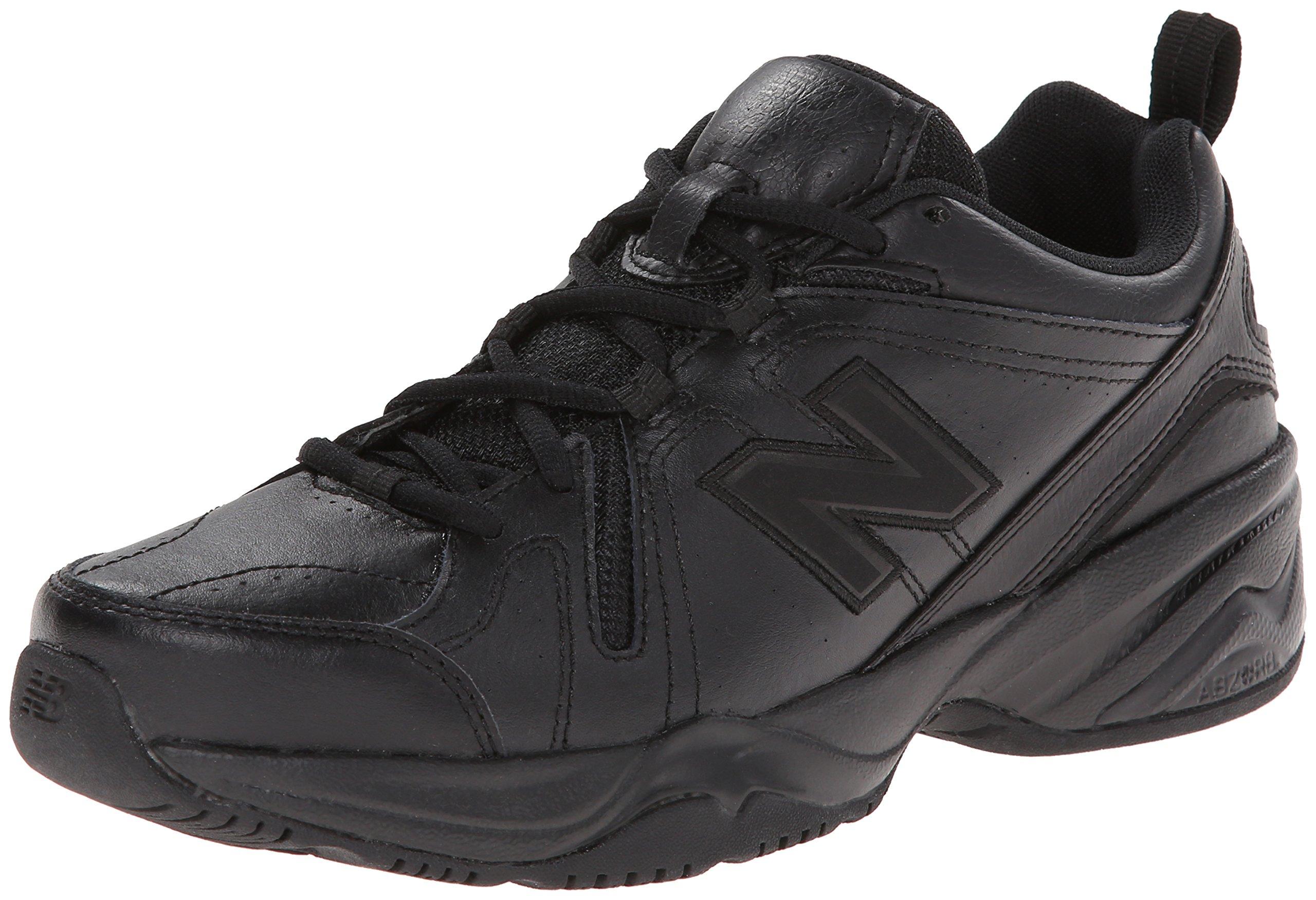 New Balance Women's WX608v4 Training Shoe, Black, 8 D US