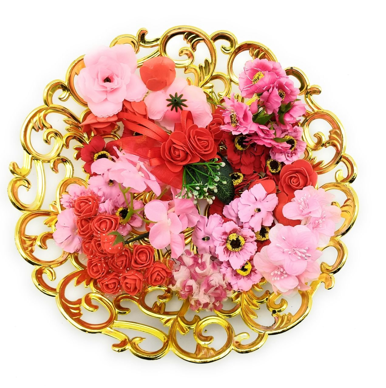 Buy Satyam Kraft Artificial Flower Bouquet Making Decoration For
