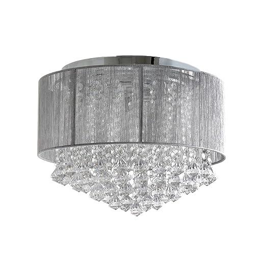 home collection gloria flush light home collection amazon co uk