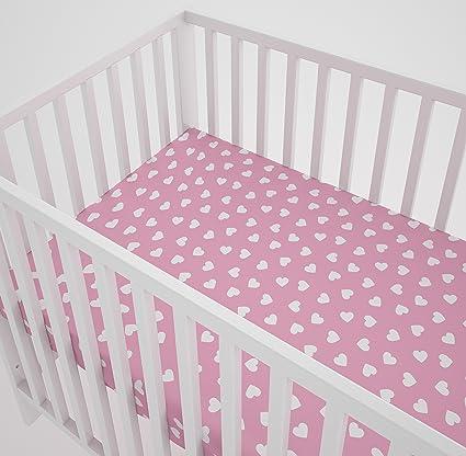 Drap housse pour lit bébé 60 x 120 cm: Amazon.