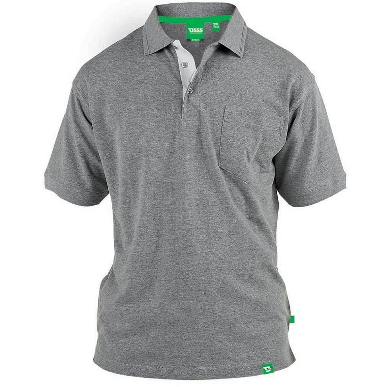 Duke D555 - Camiseta Polo de piqué Modelo Grant en Talla Grande para Hombre xCzWlkzQA