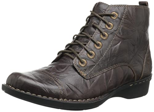 d1a9cb2675f Clarks Women's Whistle Ballad Boot, Brown Leather, 12 W US: Amazon ...