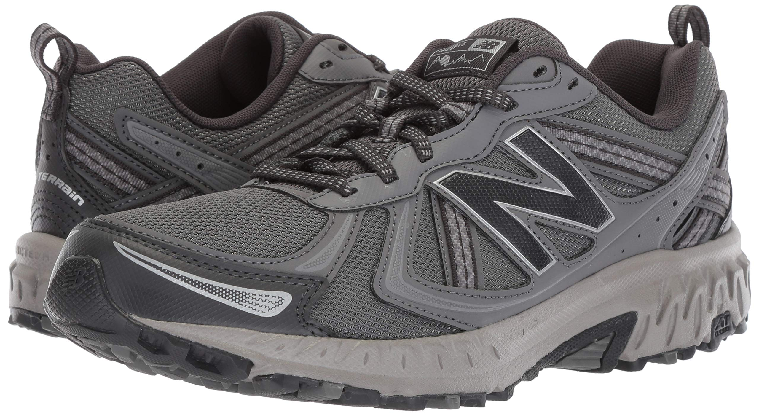 New Balance Men's 410v5 Cushioning Trail Running Shoe, Castlerock/Phantom, 7 D US by New Balance (Image #6)