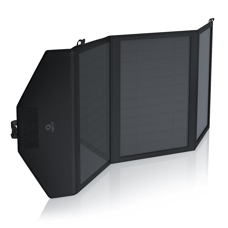 Energieeffizientes umweltschonendes Laden hochwertige Monokristallin-Zellen CSL Hohe Effizienz 15W Solar Outdoor Charger Solarladeger/ät Smart Charge Zusatz-Staufach