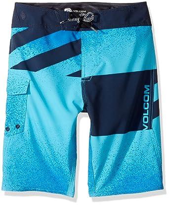 02516da239 Amazon.com: Volcom Boys' Logo Party Pack Mod Youth Boardshort: Clothing