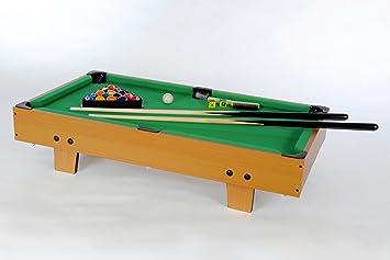 Mini Pool Table Game Point Green Size XX Cm Amazoncouk - Mini pool table size