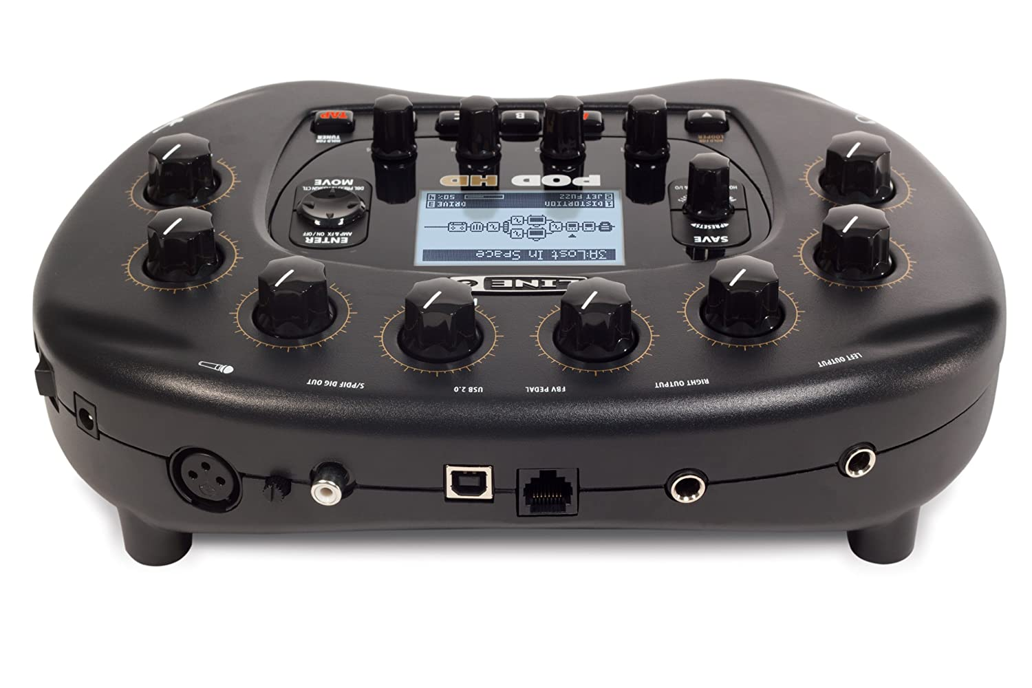 Amazon.com: [DISCONTINUED] Line 6 POD HD Guitar Desktop Multi Effects:  Musical Instruments
