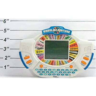 Tiger Electronics Wheel of Fortune Electronic Handheld Game (Loose - No packaging): Toys & Games