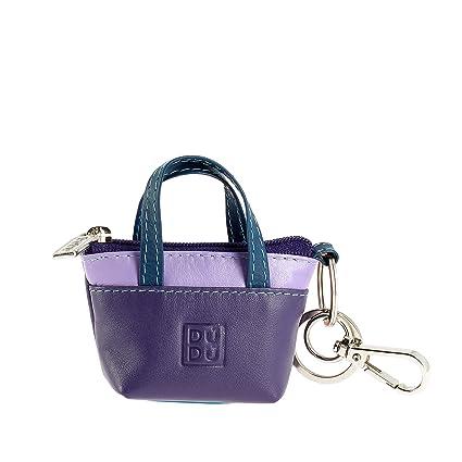 0af0349a86 DUDU Porte-clés à Petit Sac Porte-Monnaie en Cuir coloré avec Fermeture Zip