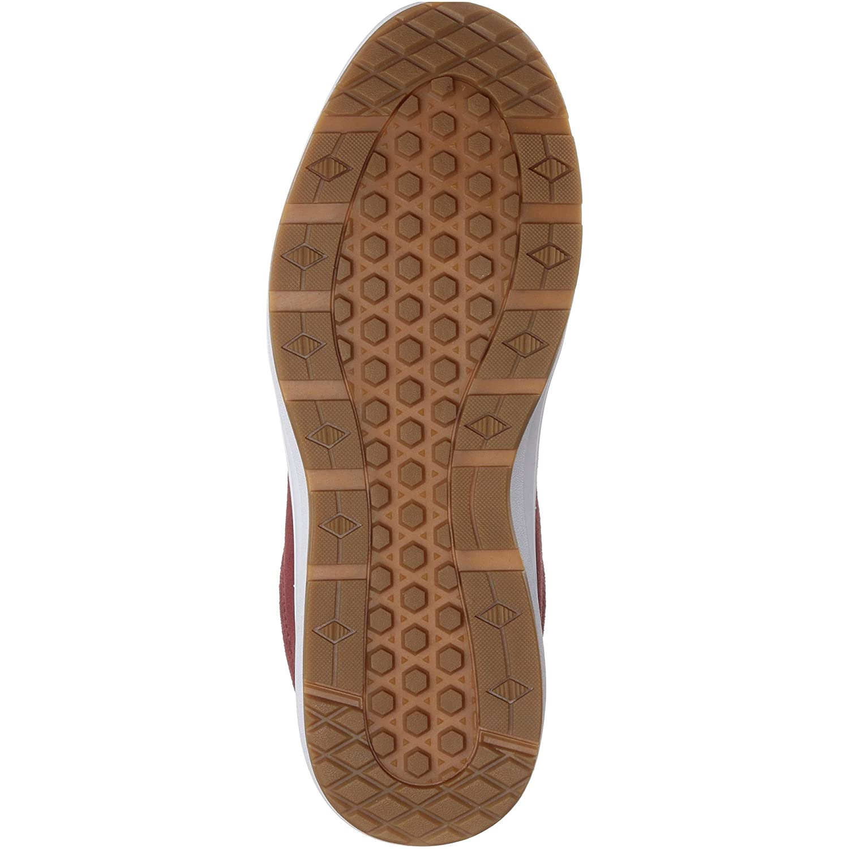 80bedf01fb Amazon.com  Vans Style 201 Perf Womens 12.5 Mens 11 Madder Brown True White  Fashion Sneaker  Shoes