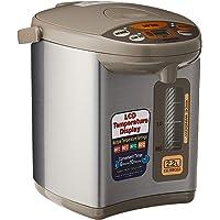 ZOJIRUSHI CD-WBQ22 Electric Airpot, 2.2 L Silver Brown
