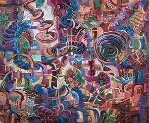 Inicio III Pintura Abstracta Original Hecha A Mano