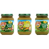 Earth's Best Organic Stage 3 Favorite Sides Baby Food Variety Pack, 12 Count