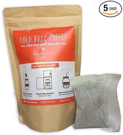 ColdBuzzCoffee Decaffeinated Bean Bag Packs