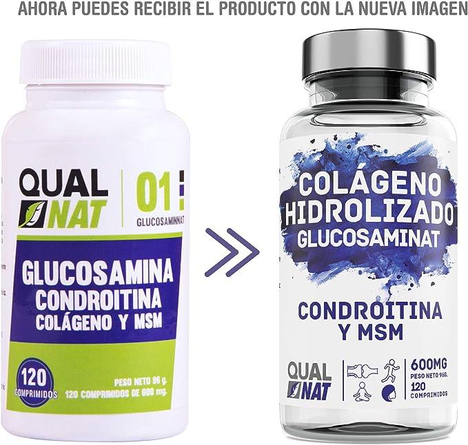 Glucosamina, condroitina y msm para el bienestar de las ...