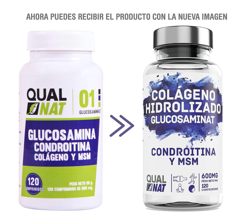 Glucosamina, condroitina y msm para el bienestar de las articulaciones – Complemento para aliviar el dolor muscular – Suplemento para el dolor de las ...