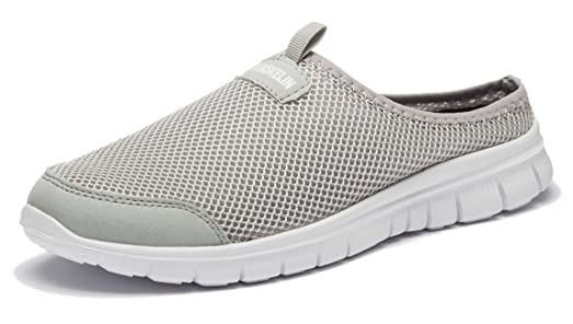 FOBEY Flat Mujer Hombre, Color Gris, Talla 42.5