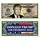 Set of 5 - Donald Trump 2016 Presidential Dollar Bill