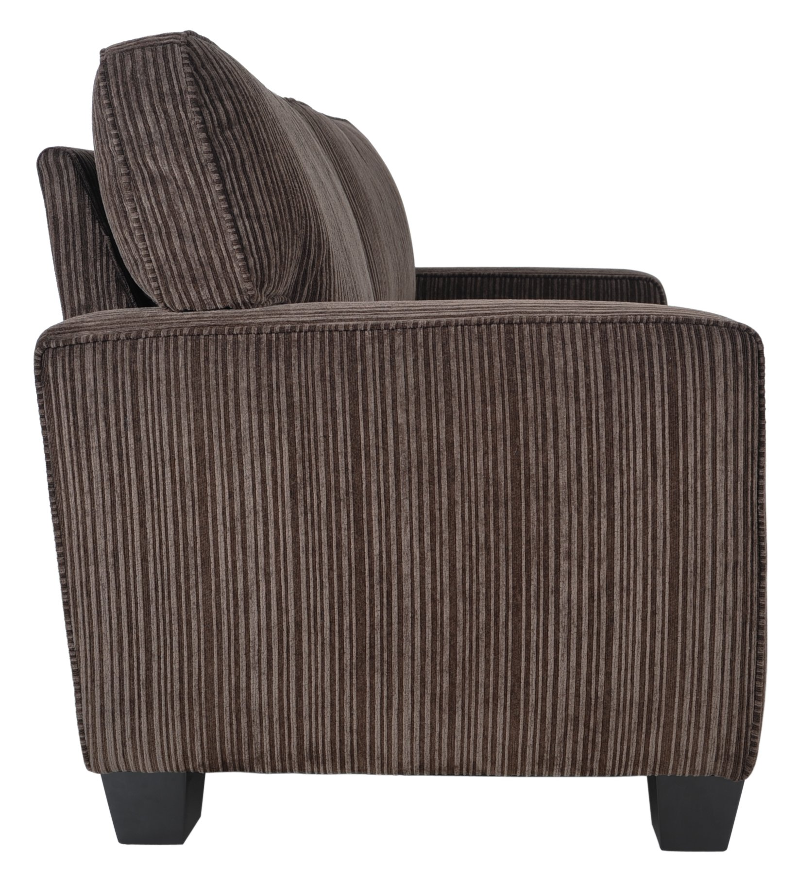 Serta RTA Palisades Collection 61'' Loveseat in Riverfront Brown by Serta (Image #5)