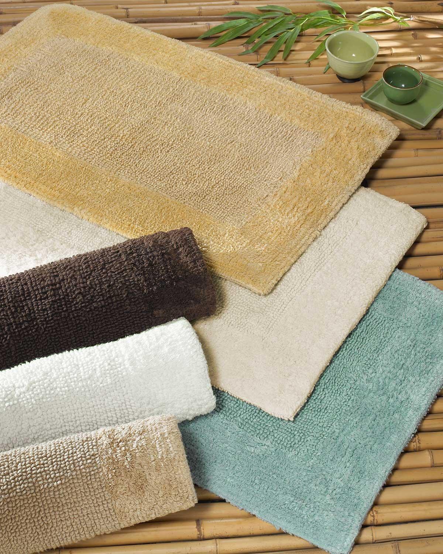 Anini Spa Bamboo and Cotton Bath Rug - Coffee - Large (24'' x 40'')