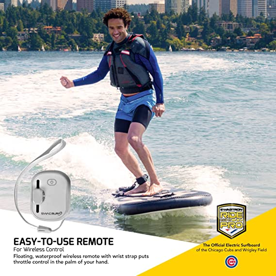Amazon.com: SwagSurf Electric Surfboard, Inflatable Drop ...