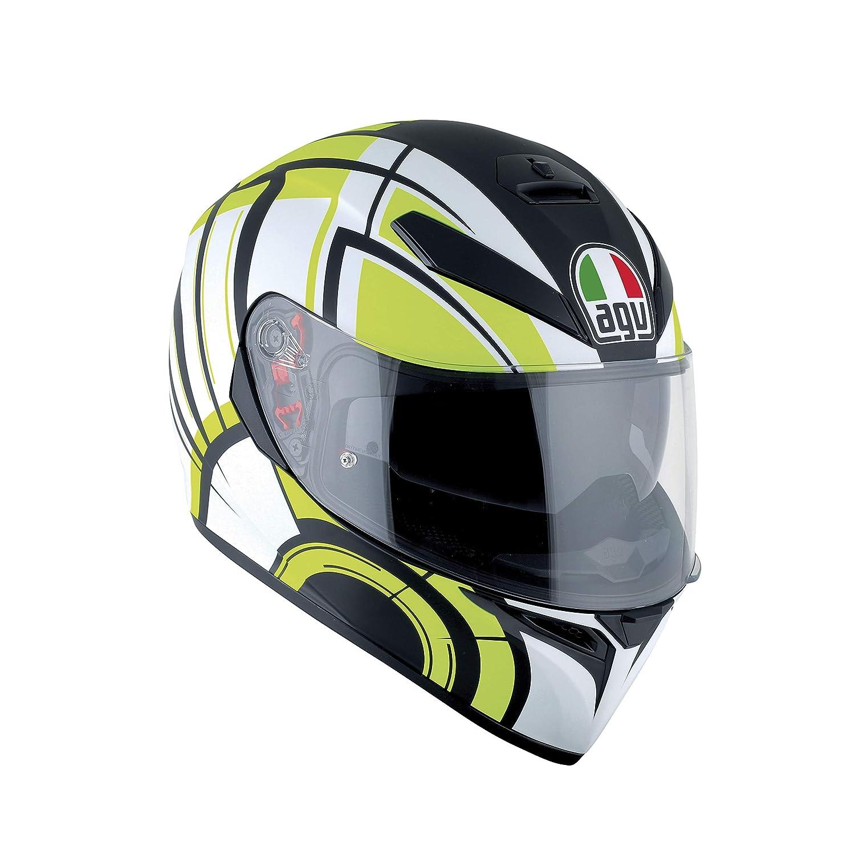 AGV Casco Moto K-3/SV E2205/Multi plk Avior Matt White//Lime MS