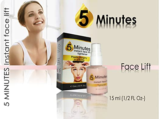 Amazon.com : 1 New Instant Face Lift Serum Immediate Results 5 Minutes : Facial Treatment Products : Beauty