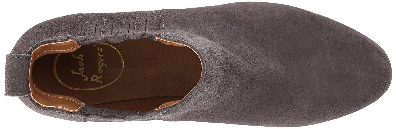Jack Rogers Women's Liddy 10 Waterproof Ankle Bootie B01NALZYGD 10 Liddy M US|Charcoal Suede b97a77