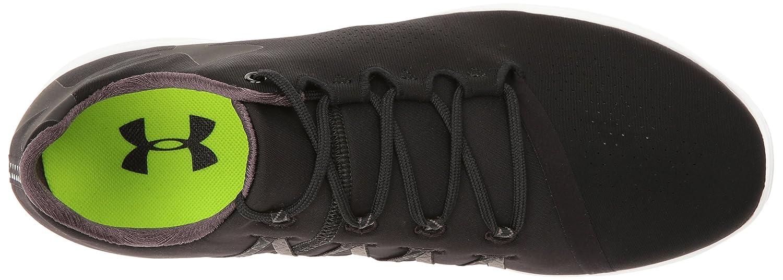 Under Armour Women's Street Precision Low Sneaker B0182YJL1Y 11 M US|Black (001)/White