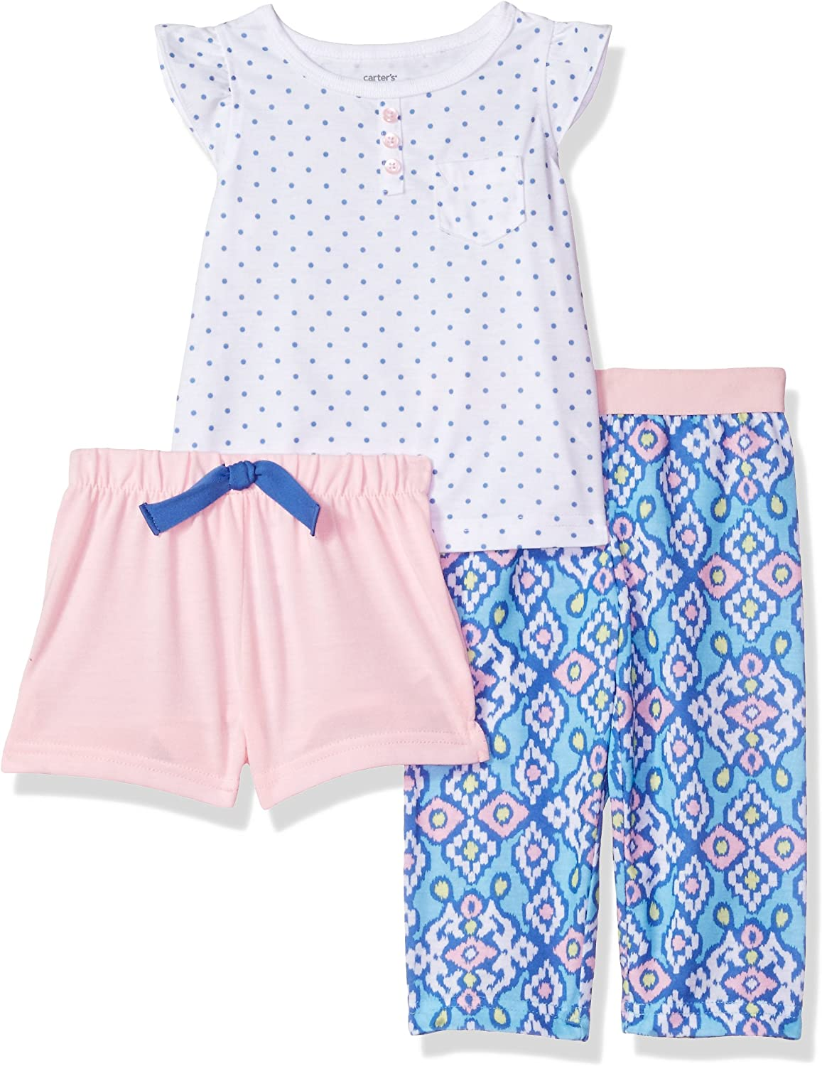 Carters Baby Girls 3 Pc Poly 333g075