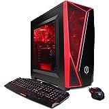 CYBERPOWERPC Gamer Master GMA2600A Desktop Gaming PC (AMD Ryzen 5 1400 3.2GHz, NVIDIA GT 730 2GB, 8GB DDR4 RAM, 1TB 7200RPM HDD, Win 10 Home), Black