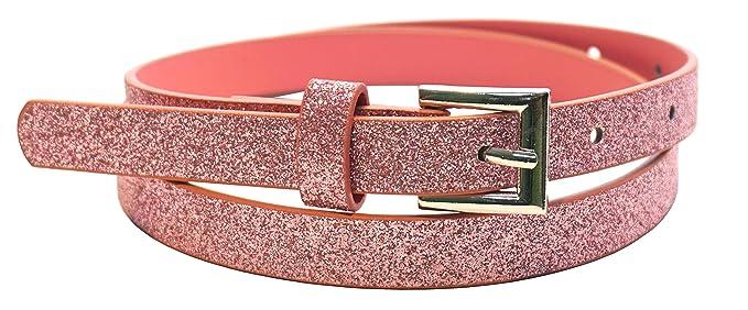 vendita calda online ffbd3 f3e65 Cintura per bambini 'Glitter Fairy' per bambini della scuola materna e  della scuola elementare, 65 cm, rosa chiaro