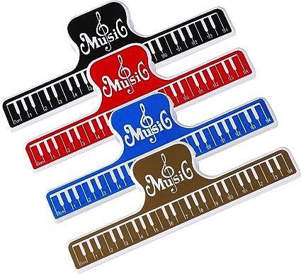 Clips de Música para Partituras, Soporte de Página para Piano ...