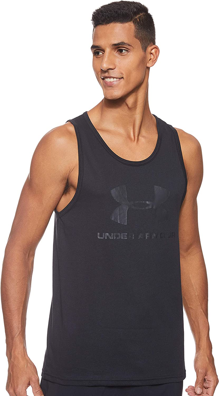 Under Armour Sportstyle Logo Tank Camiseta Sin Mangas, Hombre