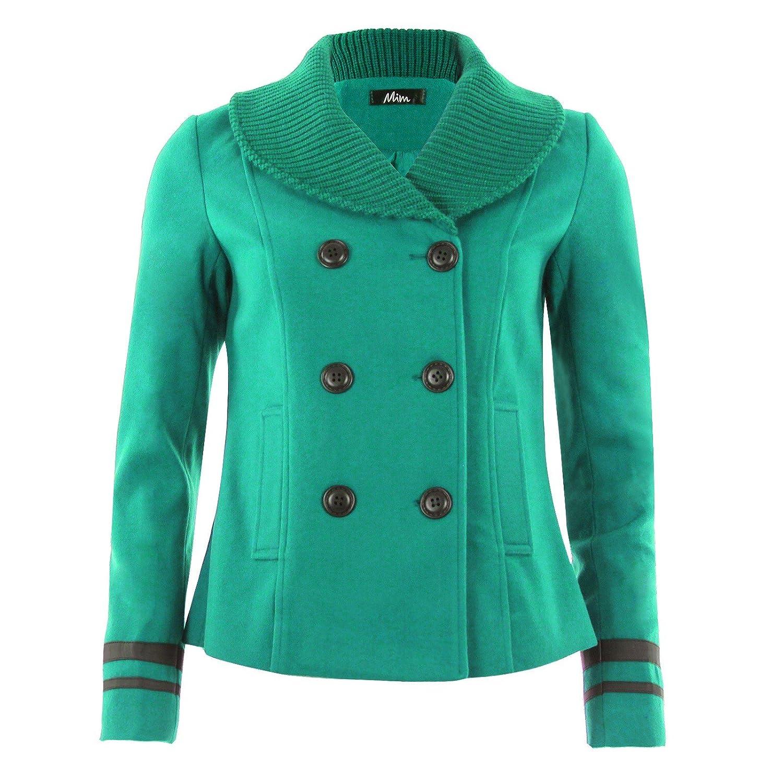 Manteau laine femme bio