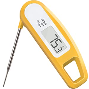 Ultra Fast & Accurate, High-Performing Digital Food/Meat Thermometer - Lavatools Javelin/Thermowand (Butter)