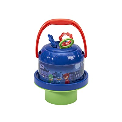 Little Kids Pj Masks No Spill Bubblin Bucket: Toys & Games