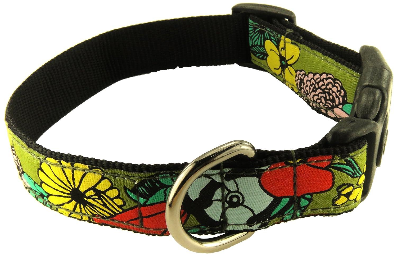 Savannah Tails Lola Flett Adjustable Dog Collar, Large