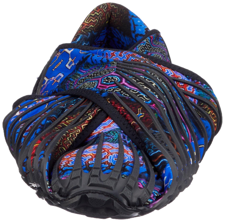 Vibram Men's and Women's Furoshiki Shipibo Sneaker B071Z9V3DJ EU:44-45/UK MAN:9.5-10.5.UK WOMAN:11-12/CM:28-29/US MAN:10.5-11.5/US WOMAN:12-13 Black/Multi