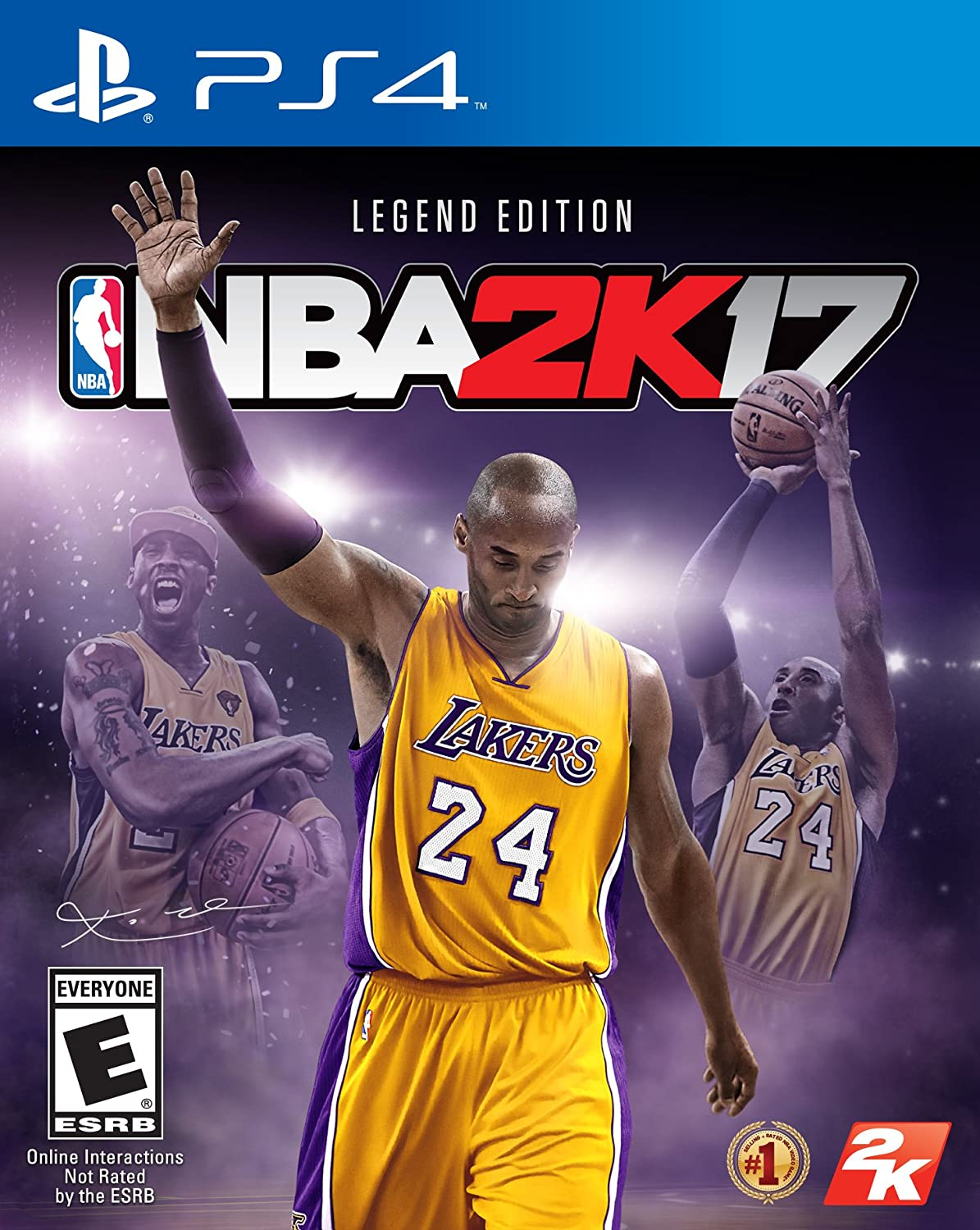 premium selection d6410 62bec Amazon.com: NBA 2K17 - Legend Edition - PlayStation 4: Video ...