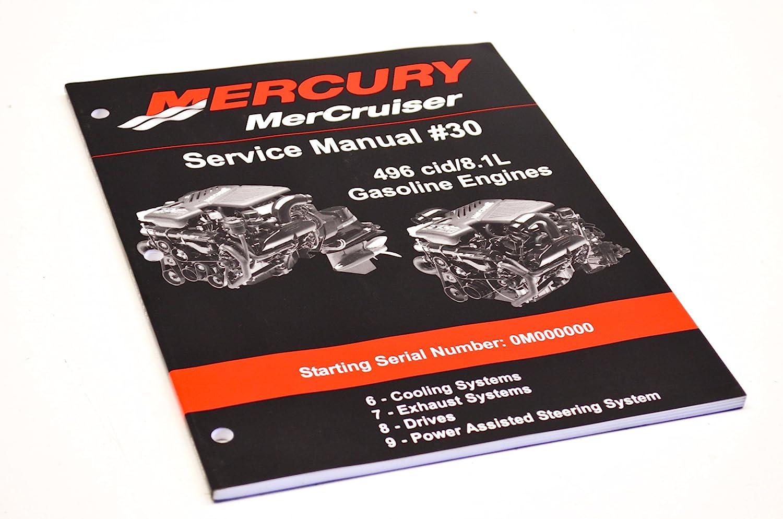 Amazon.com: Mercury 90-863161040 Service Manual #30 Sections 6-9 QTY 1:  Automotive